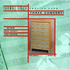 Thomas Stacy Three Concerti Sydney Phillip Hodkinson