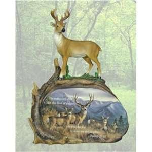 Evensong Deer Print Scene