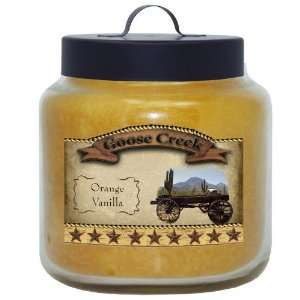 16 Ounce Orange Vanilla Western Series Jar Candle