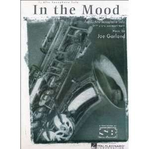 In The Mood E Flat Alto Saxophone With Piano Accompaniment Composer