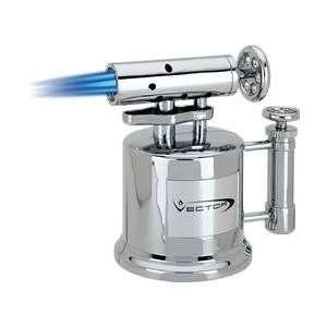 Vector Tri Pump Table Top Cigar Torch, Hi Polish Lighter