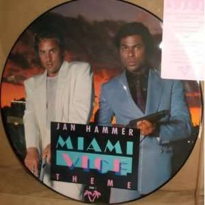 Picture Disc   Miami Vice Theme / You Belong To The City