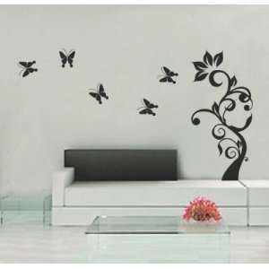 Butterflies up to 67 Inches   5.5 Feet Wall Sticker Decal Home