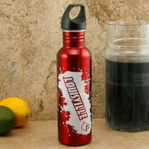 Cardinals Red 26oz. Stainless Steel Water Bottle Sports & Outdoors