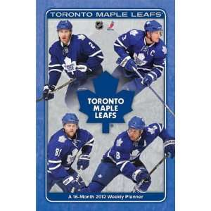 Maple Leafs 16 Month 2012 Weekly Planner Calendar