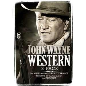 John Wayne Western Three pack (The Man Who Shot Liberty Valance / Sons