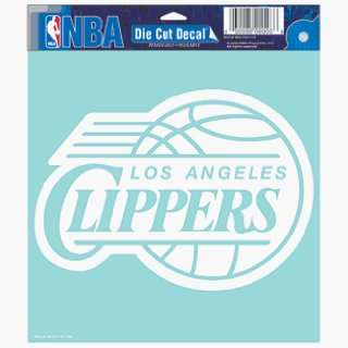 Angeles Clippers 8 X 8 Die Cut Decal