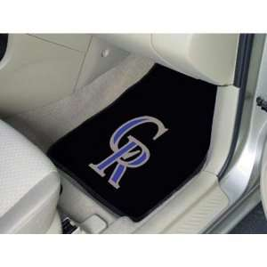Colorado Rockies MLB Car Floor Mats (2 Front)  Sports
