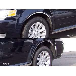 2009 2011 Ford Flex 6pc Wheel Well Trim w/ Cut for Rocker