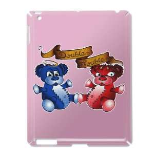 Case Pink of Double Trouble Bears Angel and Devil
