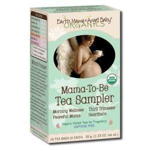 Earth Mama Angel Baby Mama To Be Tea: Grocery & Gourmet Food