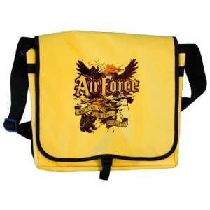 Messenger Bag Air Force US Grunge Any Time Any Place Any
