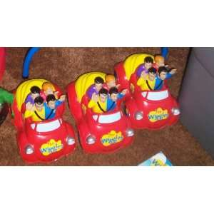 The Wiggles Toot Toot Big Red Car Push Top Everything