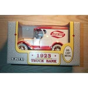 ERTL 1923 Truck Bank (Super Valu) Second Edition Toys