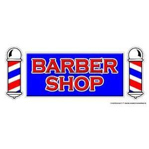 BARBER SHOP  Window Decal  hair salon parlor sign signs
