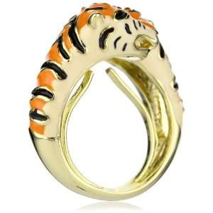 Beyond Rings Enchanted Tiger Adjustable Ring Jewelry