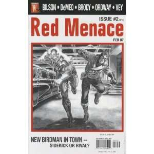 Red Menace #2 Cover A (Red Menace, Volume 1) Books