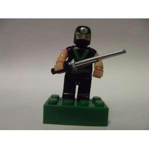 Power Rangers Samurai Minifigure~Trainning Mode Green Ranger