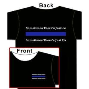 Thin Blue Line   T Shirt   Police   Sheriff   Justice