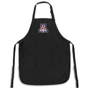 University of Arizona Apron NCAA College Logo Black Arizona Wildcats
