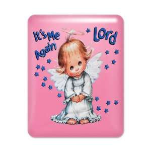 iPad Case Hot Pink Its Me Again Lord Prayer Angel