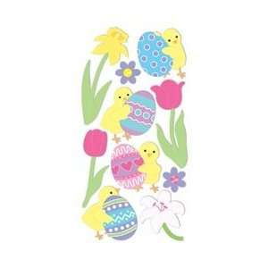 Easter Chicks/Eggs/Flowers PESL 101; 6 Items/Order Home & Kitchen