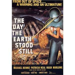 The Day The Earth Stood Still Vintage Movie Poster