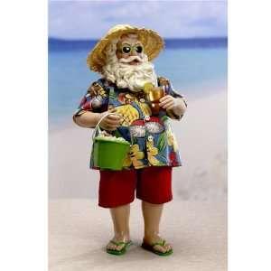 10 Fabriché Sun and Surf Beach Santa Claus Christmas