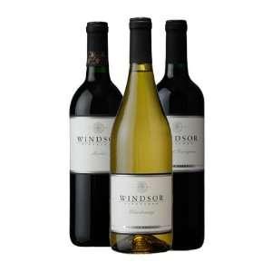 Windsor Vineyards VIP Trio 3 Bottle Gift Set Grocery