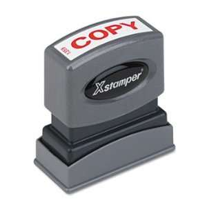 Xstamper® ECO GREEN One Color Title Stamp STAMP,COPY,RD 82409 (Pack