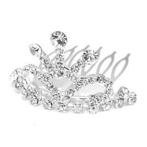 Perfect Gift   High Quality Glistering Crown Hair Pin with