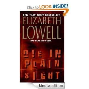 Die in Plain Sight (Rarities Unlimited): Elizabeth Lowell: