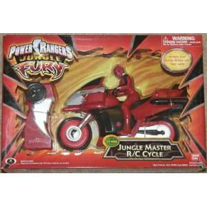Power Rangers Jungle Master R/C Cycle Toys & Games