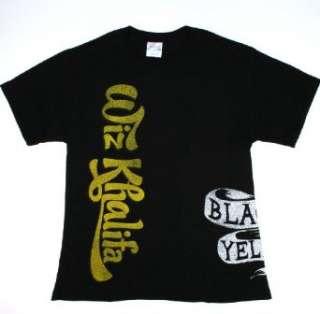 Wiz Khalifa Black And Yellow Mens Shirt Clothing