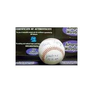 Baseball inscribed Yankee Killer  Sports & Outdoors
