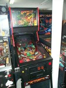 Revenge From Mars Arcade Video Pinball Machine