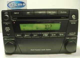 Mazda MPV Van 2002 2003 CD player radio 1168 w/o Brackets TESTED