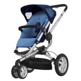 Quinny Buzz 3 Wheel Baby Stroller   Electric Blue (884392557577
