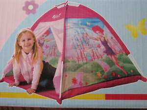 Dark Pink tent Play house structure girls Barbie (845575083207)