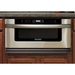 Insight Series Microwave w/ Built In Drawer   Stainless Steel