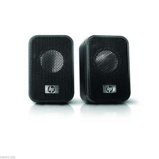 HP Computer Compact stereo System USB Mini Speakers