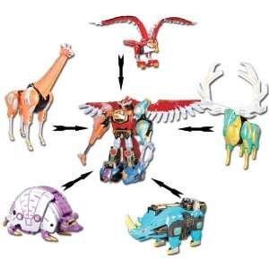 Power Rangers Wild Force Deluxe Isis Megazord: .co.uk: Toys