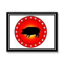 Year of the Pig Wall Calendars by YearOfThe