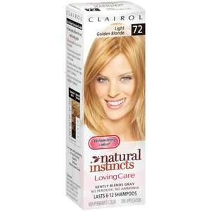 Loving Care Light Golden Blonde 72 Hair Color, 1 kt Hair Care