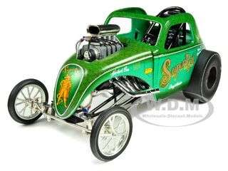 Fiat Super Rat Altered Dragster 1/18 Diecast Car Model by Acme