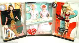 Ladies of TV COMEDY~I LOVE LUCY~GOLDIE HAWN~CAROL BURNETTE Barbie Lot