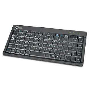 Siig JK US0512 S1 USB Ultra Slim Mini Keyboard with ACCS Laptop Style