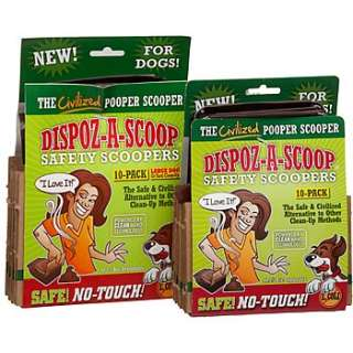 Home Dog Sanitation & Lawn Care Dispoz A Scoop Safety Scoopers