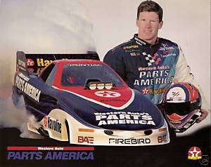 1997 BRAD ANDERSON NHRA DRAG RACING FUNNY CAR PHOTO