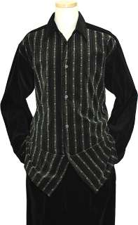 Pronti Black / Bone Velvet 2 PC Outfit SP5839   Click Image to Close